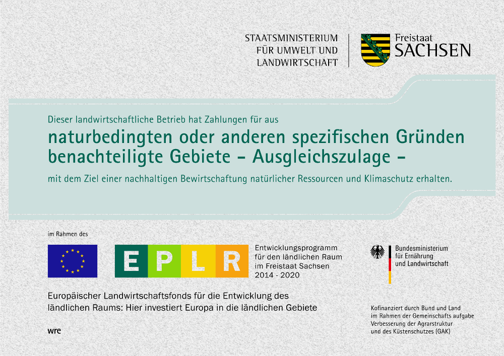 EPLR Förderung für naturbedingte Maßnahmen